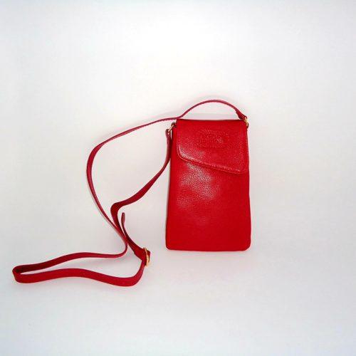 Bolsa Porta Celular Vermelha Oxford Boutique