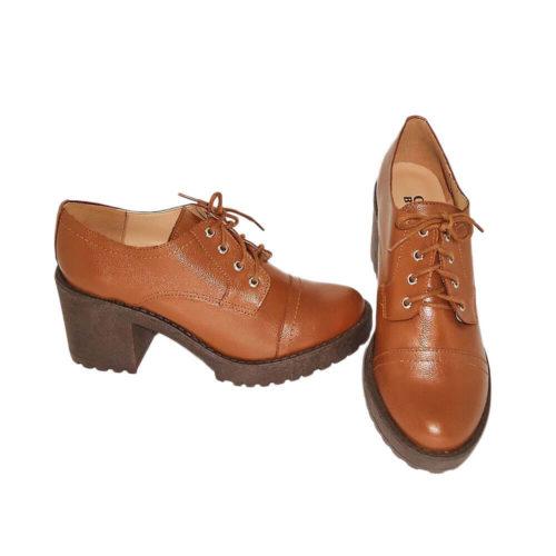 Sapato Derby Australiano Marrom