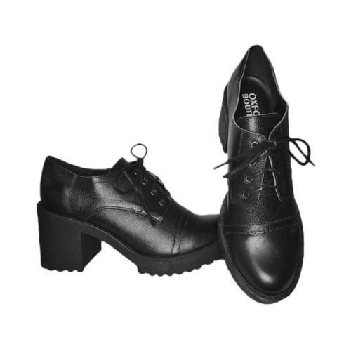 Sapato Derby Australiano Preto