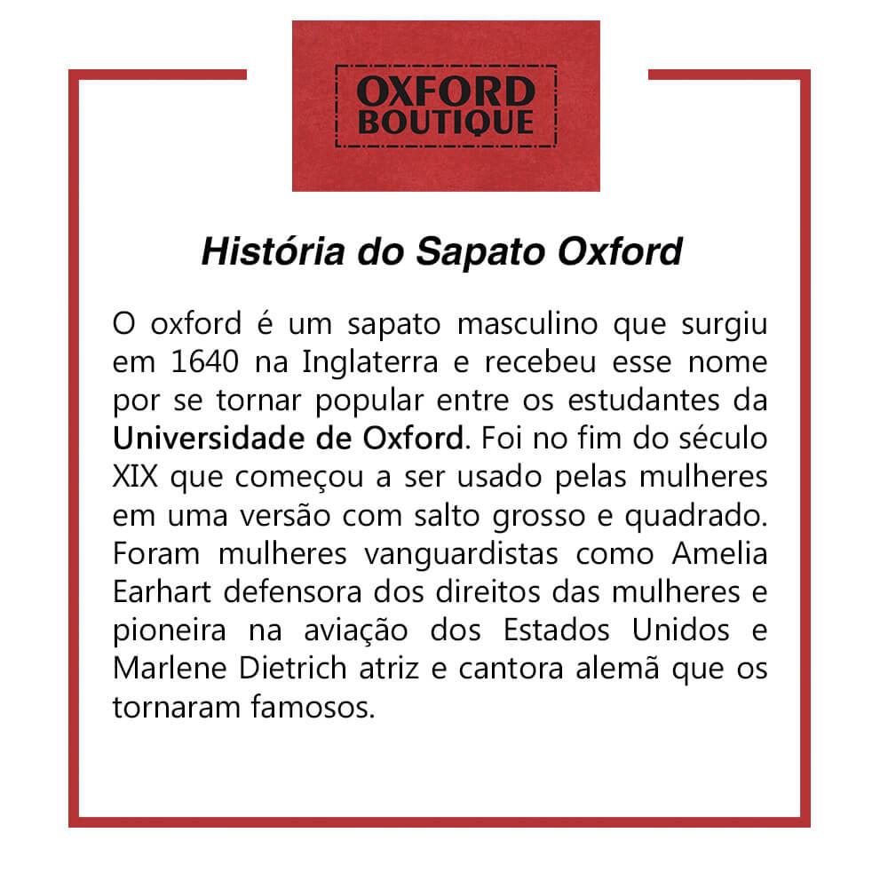 historia sapato oxford 1